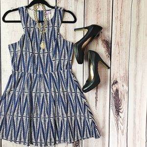 Anthropologie Alya Fit and Flare Dress